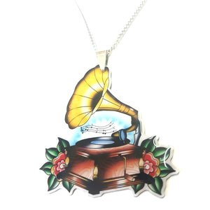 Jubly Umph Necklace - Gramophone