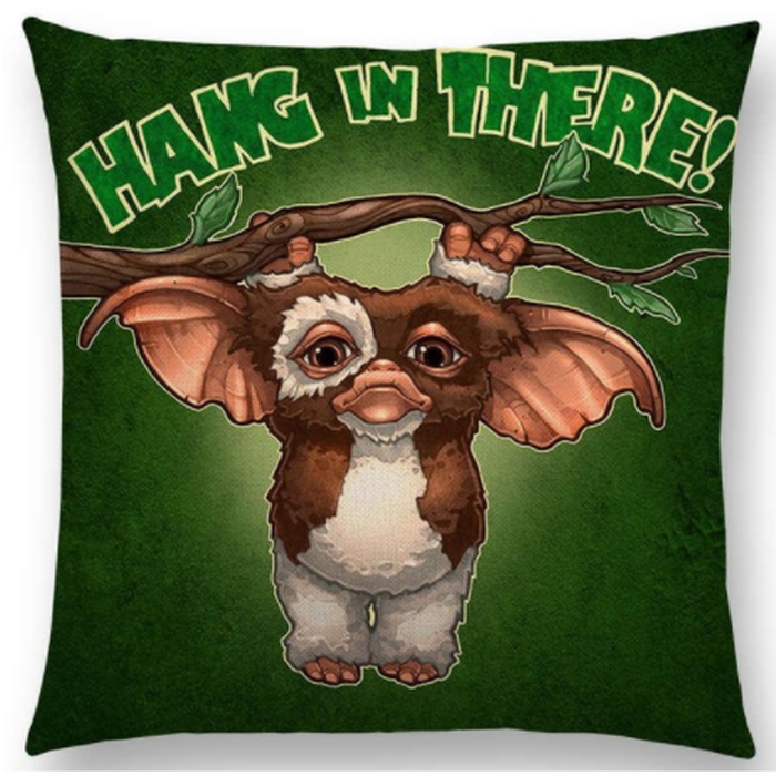 Cushion Gremlins Hang In There Gizmo