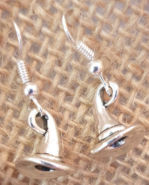 Sorting Hat Wizard Earrings