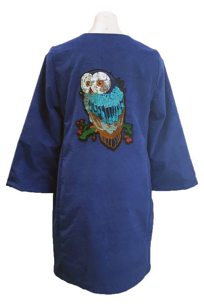 PR Original - Japanese Coat Blue Owl