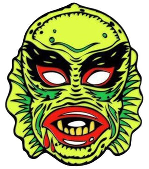 Enamelled Brooch/Pin - Creature From the Black Lagoon