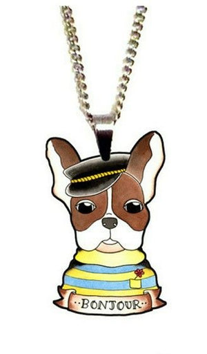 Jubly Umph Necklace - Henri The French Bulldog