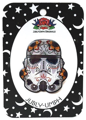 Jubly Umph Brooch - Stormtrooper
