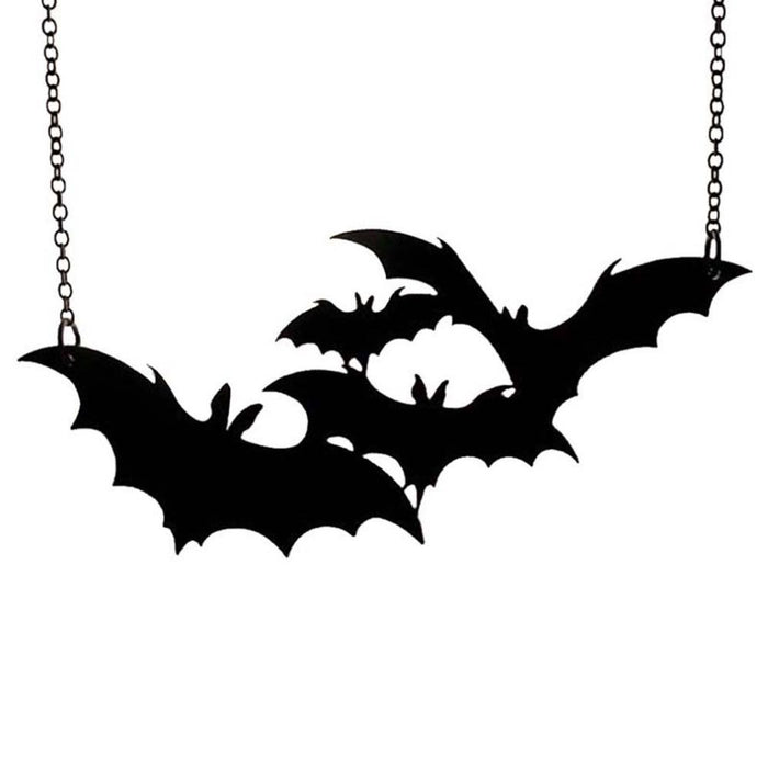 Bat Horde Acrylic Necklace