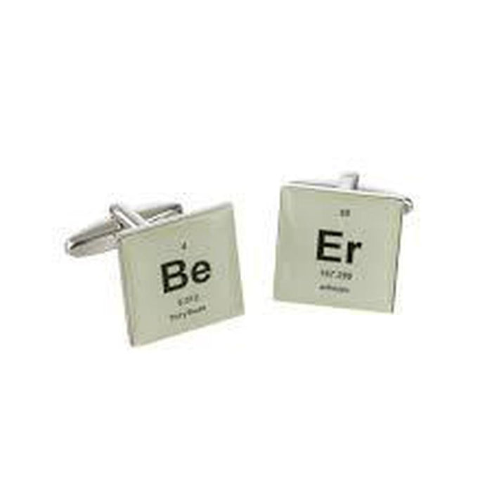 Cufflinks - BEER Periodic Table