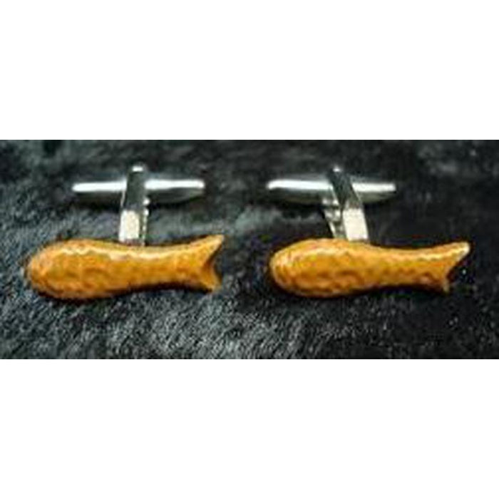 Cufflinks - Kiwiana - Choc Fish