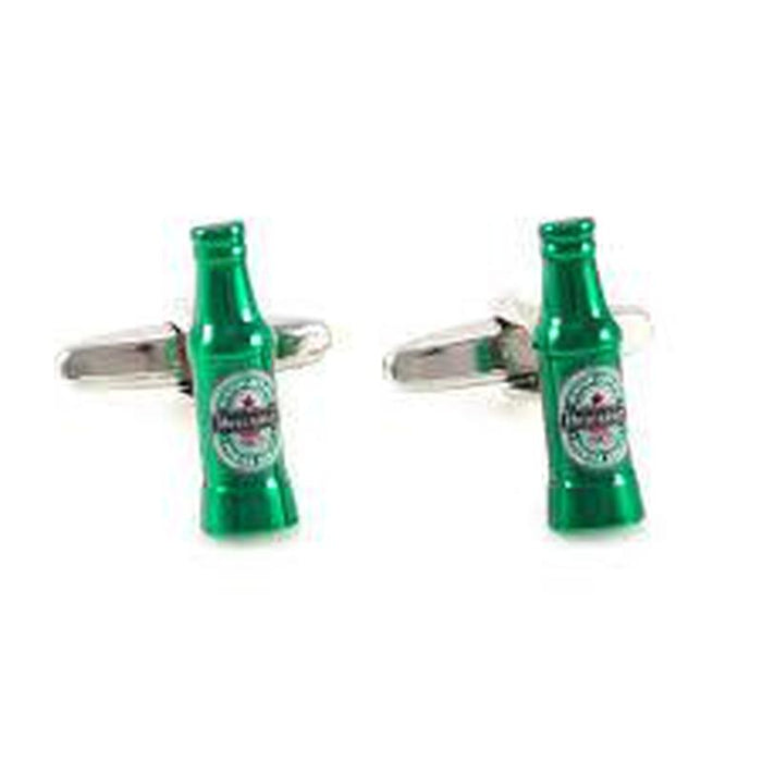 Cufflinks - Heineken Beer Bottles