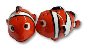 Clown Fish Nemo Salt & Pepper Set