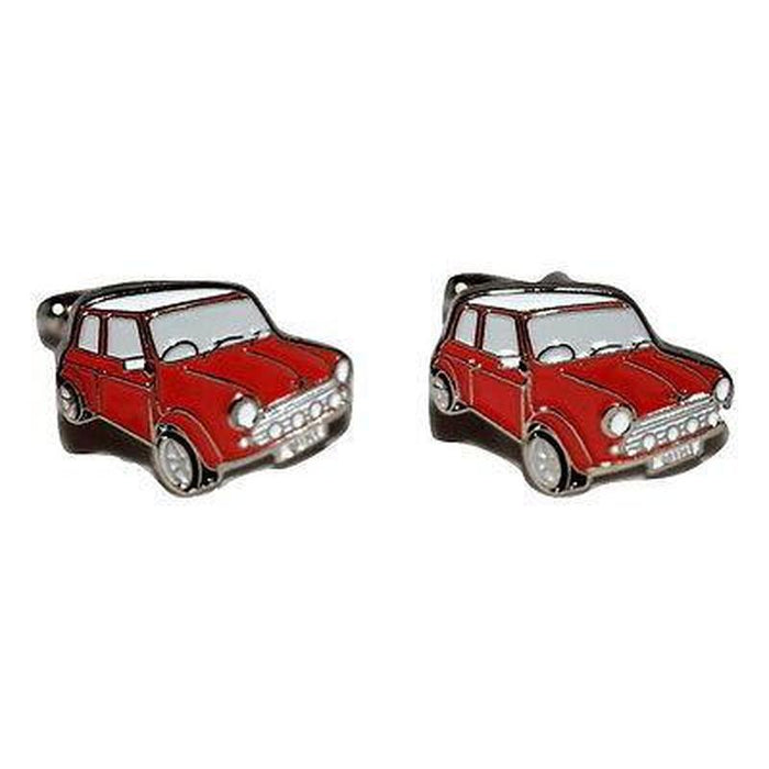 Cufflinks - Auto - Red Mini