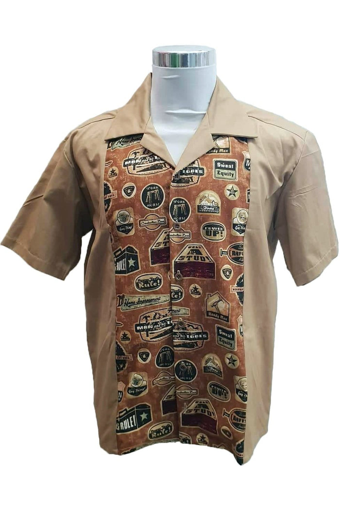 PR Originals - Men At Work Bowling Shirt