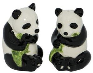 Panda Bear Salt & Pepper Shakers