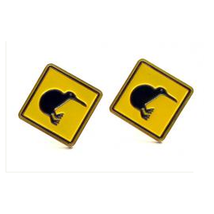 Cufflinks - Kiwiana - Kiwi Road Sign