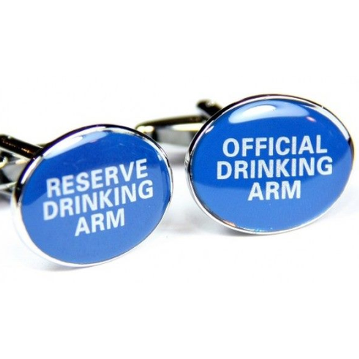 Cufflinks - Reserve/Official Drinking Arm Blue