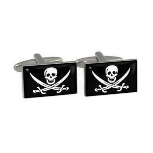 Cufflinks - Flags - Pirate - Jolly Roger