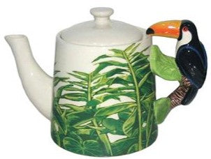 Teapot Toucan Handle