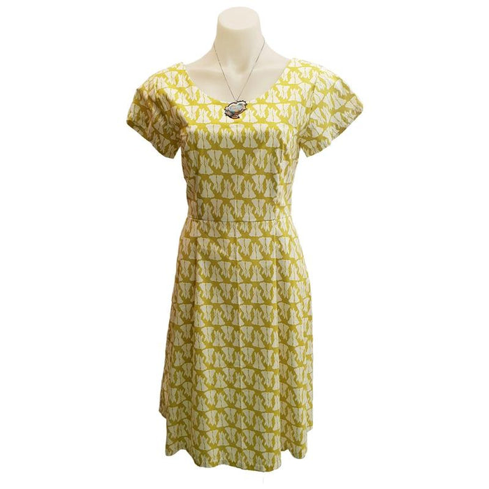 PR Orig - Lime Bunnies Audrey Dress