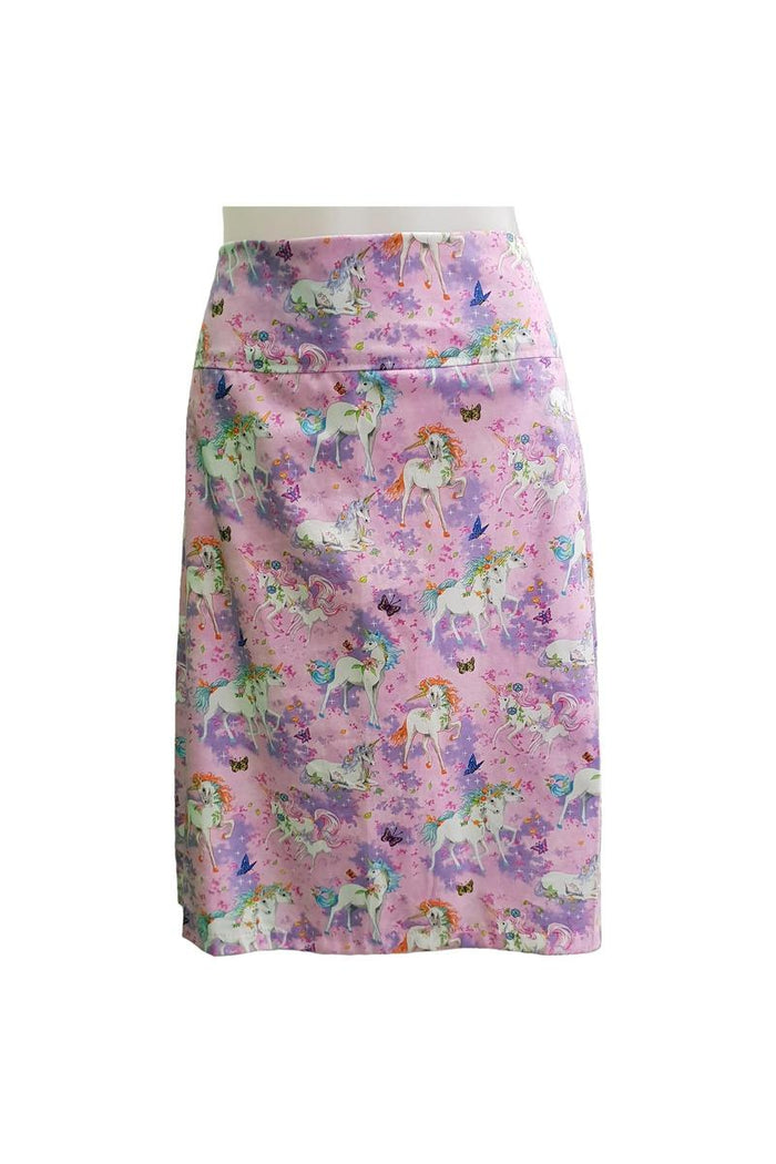 PR Original - Pink Unicorn Zip Skirt