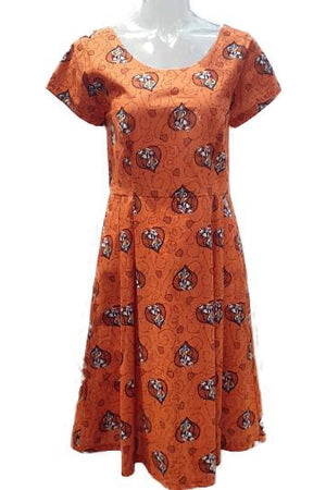 PR Original - Nightmare Before Christmas Orange  Audrey Dress