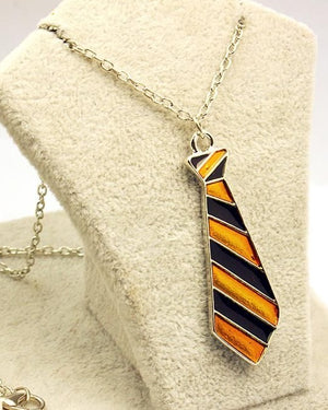 Harry Potter Yellow/Black Neck Tie Necklace