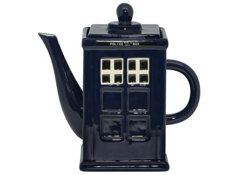 Police Box Ceramic Teapot