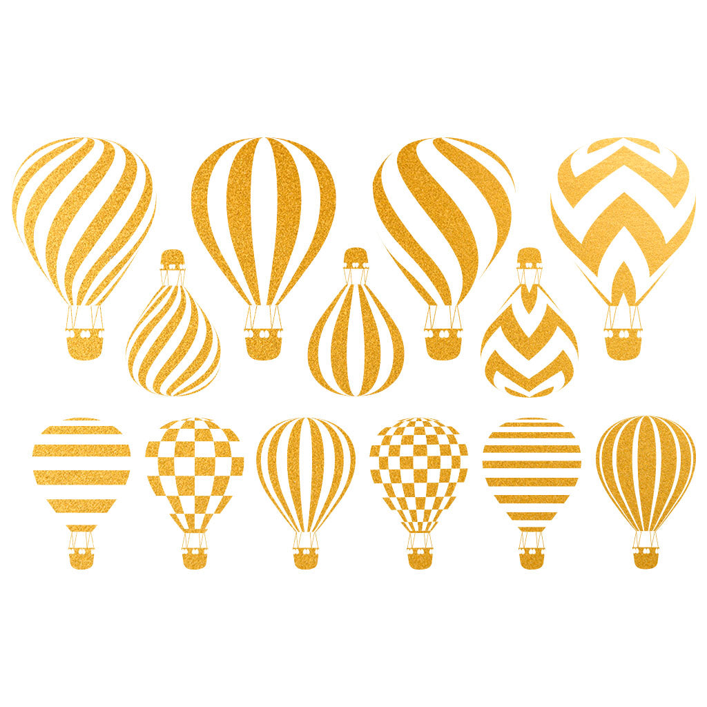 Gold - Hot Air Balloon