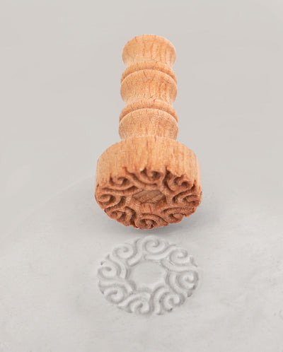 Clay Stamp - Wave