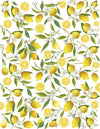 Overglaze decal - Lemon