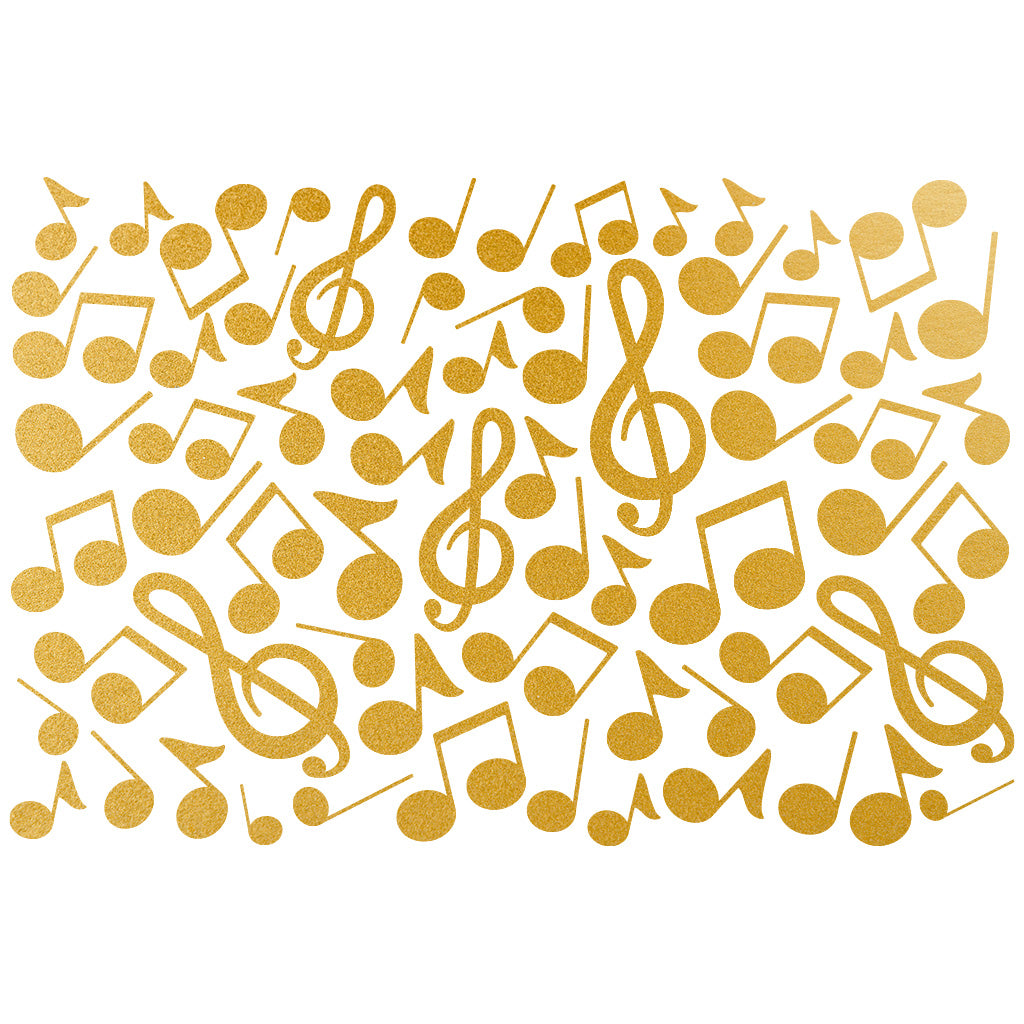 Gold - Music Note