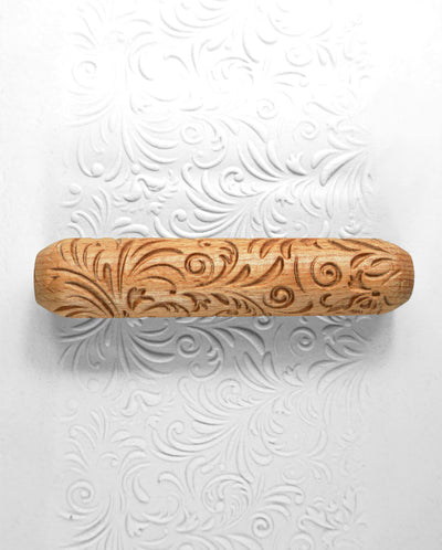 Clay Texture Roller - Fairy Fern