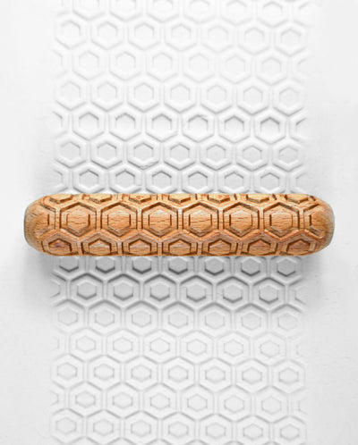 Clay Texture Roller - Honeycomb