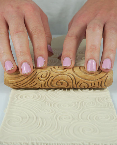 Clay Texture Roller - Magic Swirls