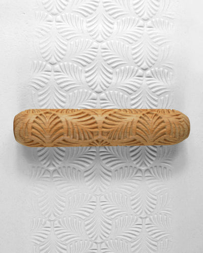 Clay Texture Roller - Palm Leaf