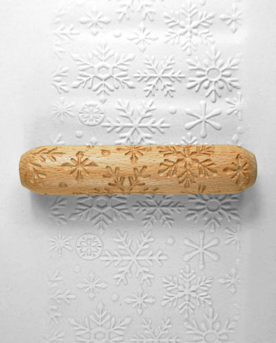 Clay Texture Roller - Snow Flake