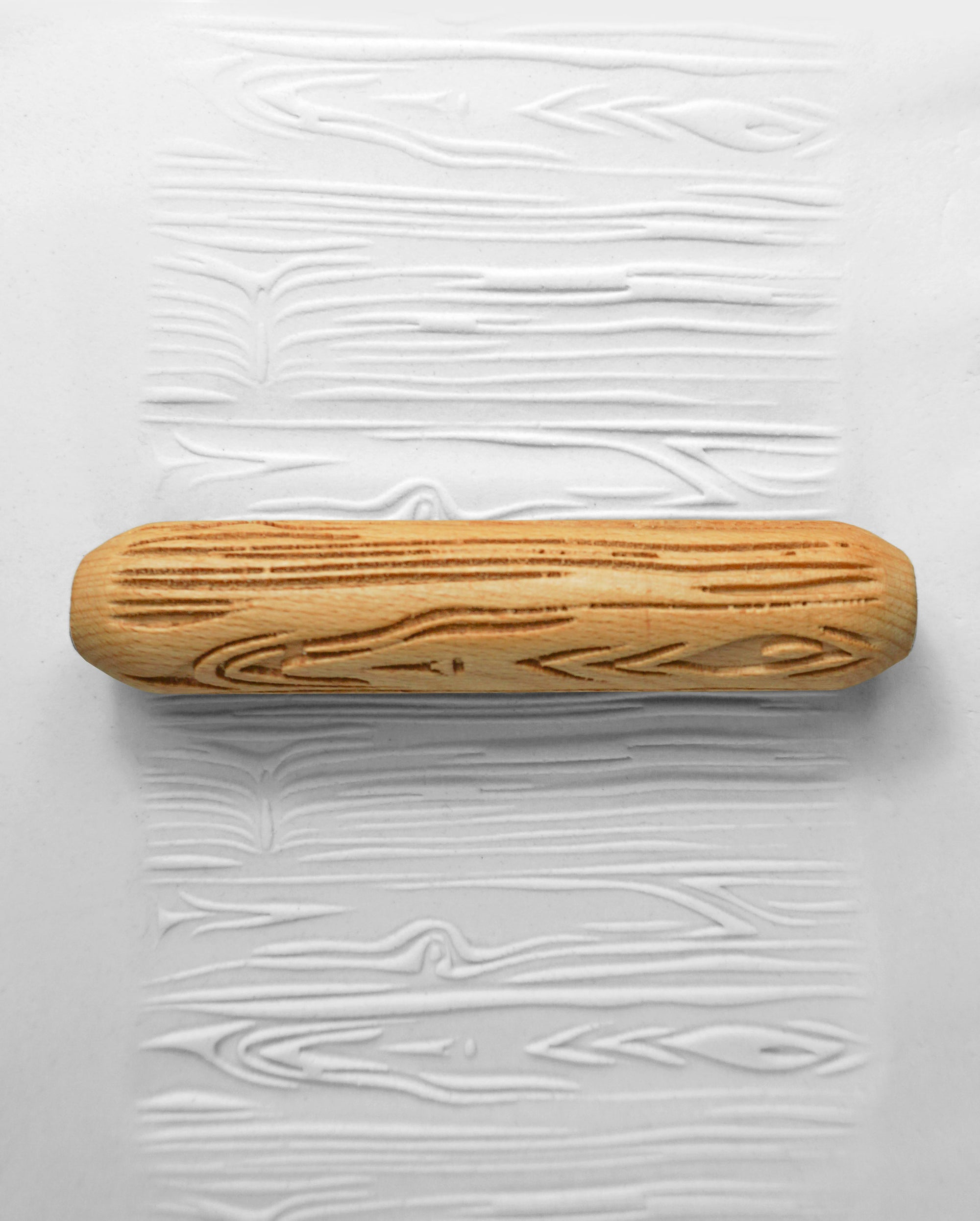 Clay Texture Roller - Tree Bark