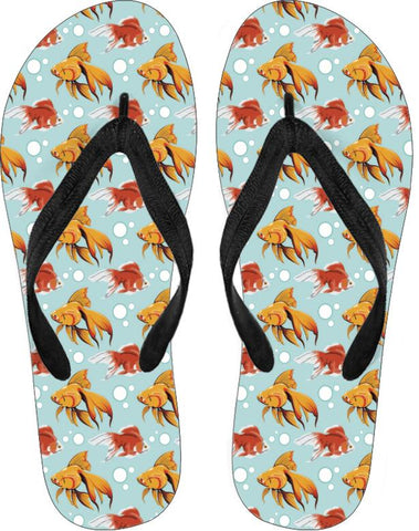Fancy Goldfish Flip Flops