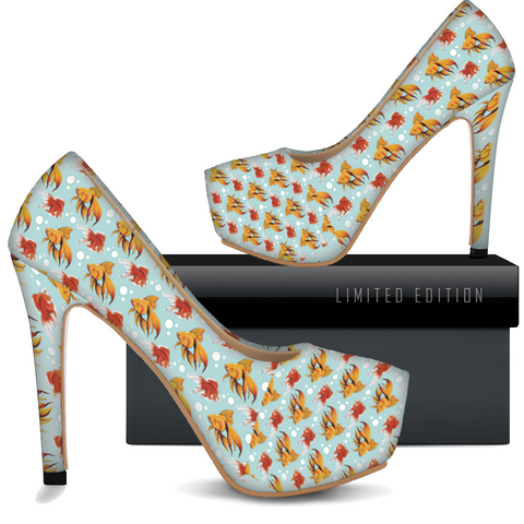 Fancy Goldfish High Heels