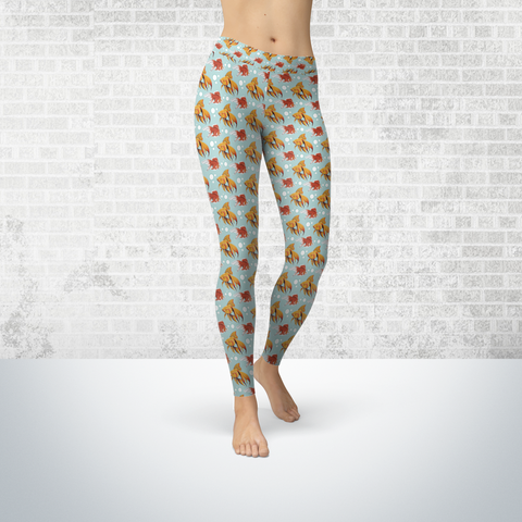 Fancy Goldfish Leggings