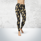 Leopard Gecko Leggings