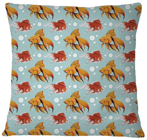 Fancy Goldfish Pillow