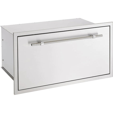 "Image of American Muscle Grill by Summerset 36"" Extra Large Storage Drawer w/ Matching AMG Handle SSDR1-36AMG"
