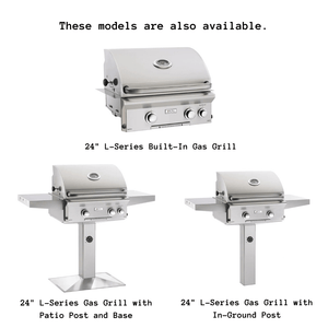 "American Outdoor Grill 24"" L-Series Portable Gas Grill with Infrared Burner"