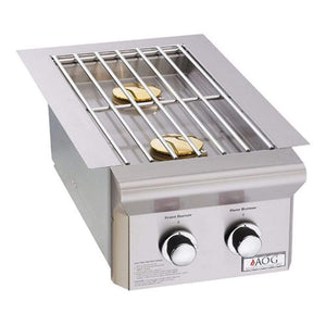 American Outdoor Grill Double Side Burner L-Series - Built-In