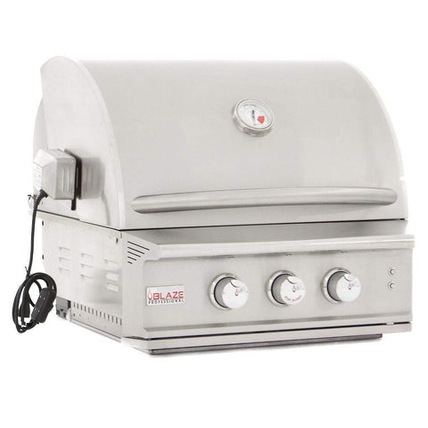 "Image of Blaze 27"" 2-Burner Professional Built-In Gas Grill with Rear Infrared Burner"