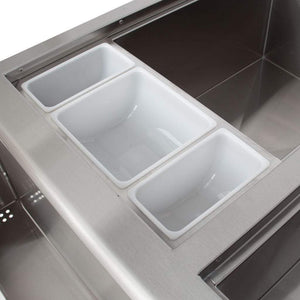 "Blaze 30"" Beverage Center With Sink & Ice Bin Cooler BLZ-30CKT-SNK"