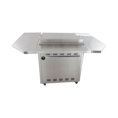 "Image of Blaze 30"" Grill Cart Shelving Unit for Gas Griddle BLZ-GRIDDLE-SHK"