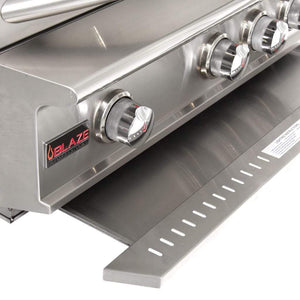 "Blaze 34"" 3-Burner Professional Built-In Gas Grill with Rear Infrared Burner"