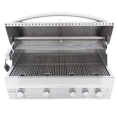"Image of Blaze 44"" 4-Burner Professional Built-In Gas Grill with Rear Infrared Burner"