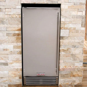 "Blaze 50 lbs. 15"" Outdoor Rated Ice Maker With Gravity Drain BLZ-ICEMKR-50GR"