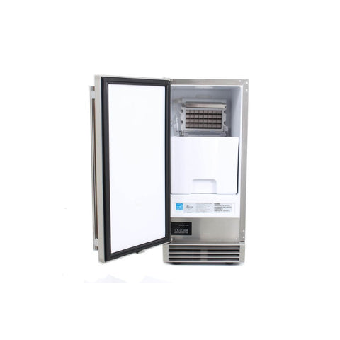"Image of Blaze 50 lbs. 15"" Outdoor Rated Ice Maker With Gravity Drain BLZ-ICEMKR-50GR"