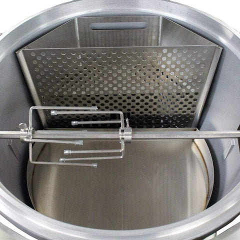 Image of Blaze Easy Light Indirect Cooking System with Moisture Enhancing Pan BLZ-KMDO-CBDRP